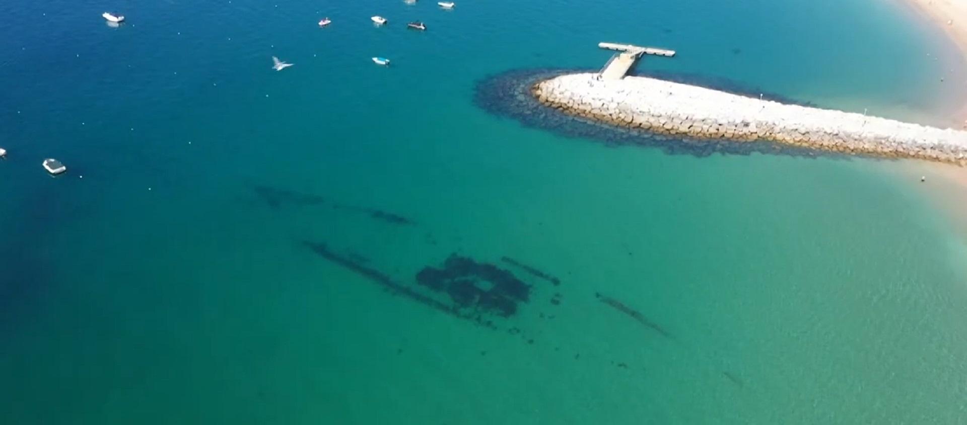 Evocação do naufrágio do navio NUMANCIA