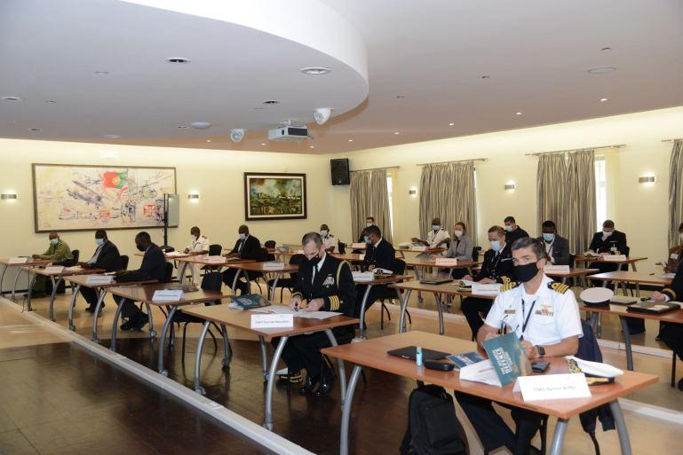 O curso teve a participação de 25 auditores em representação de 13 países dos quatro continentes do Atlântico (imagem MDN)
