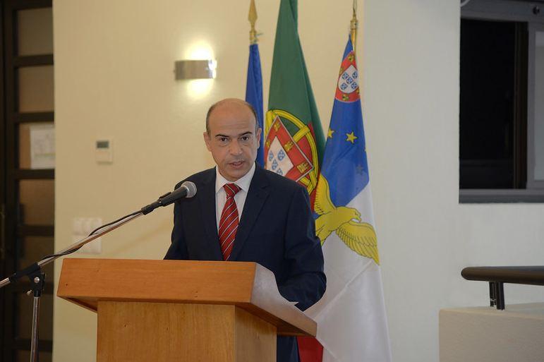 Pedro Faria e Castro, Subsecretario Regional da Presidência, presidiu à sessão de abertura, em representação do Governo Regional dos Açores (imagem MDN)