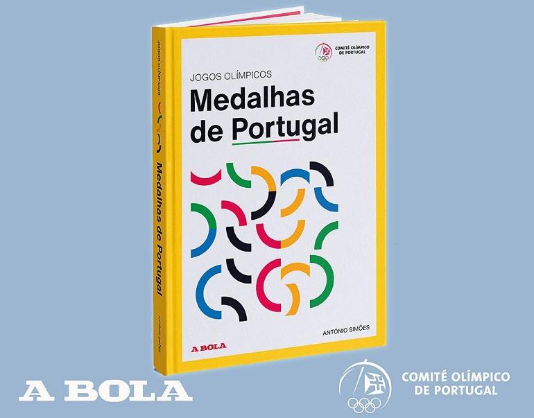 O livro Jogos Olímpicos - Medalhas de Portugal