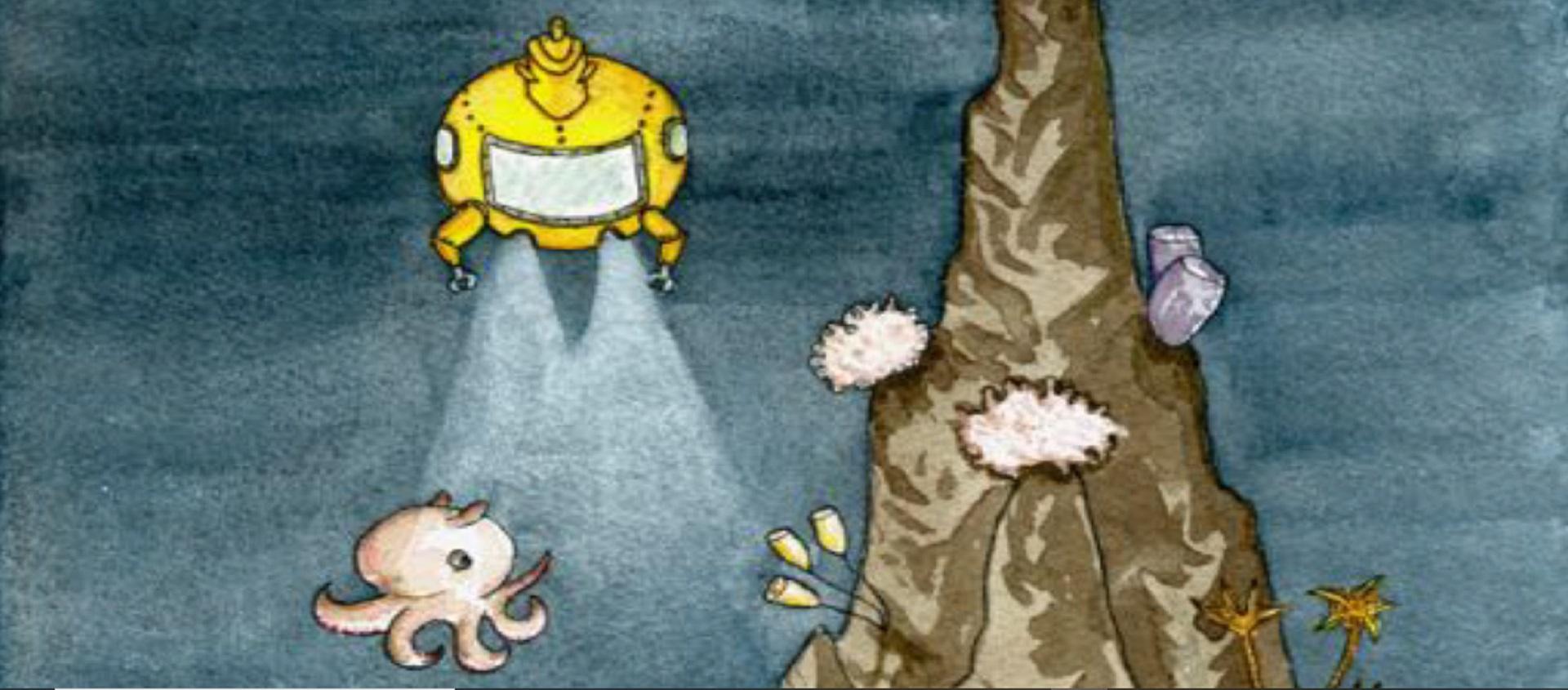 Tesouros do fundo do mar