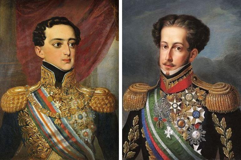 """D. Miguel e D. Pedro, """"os últimos malcriados da família"""""""