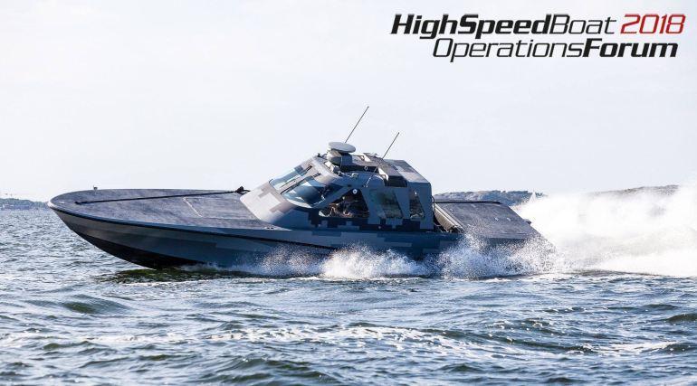 O NUNYA é um high speed interceptor craft, de 13 metros da United States Marine Inc. (créditos na imagem)
