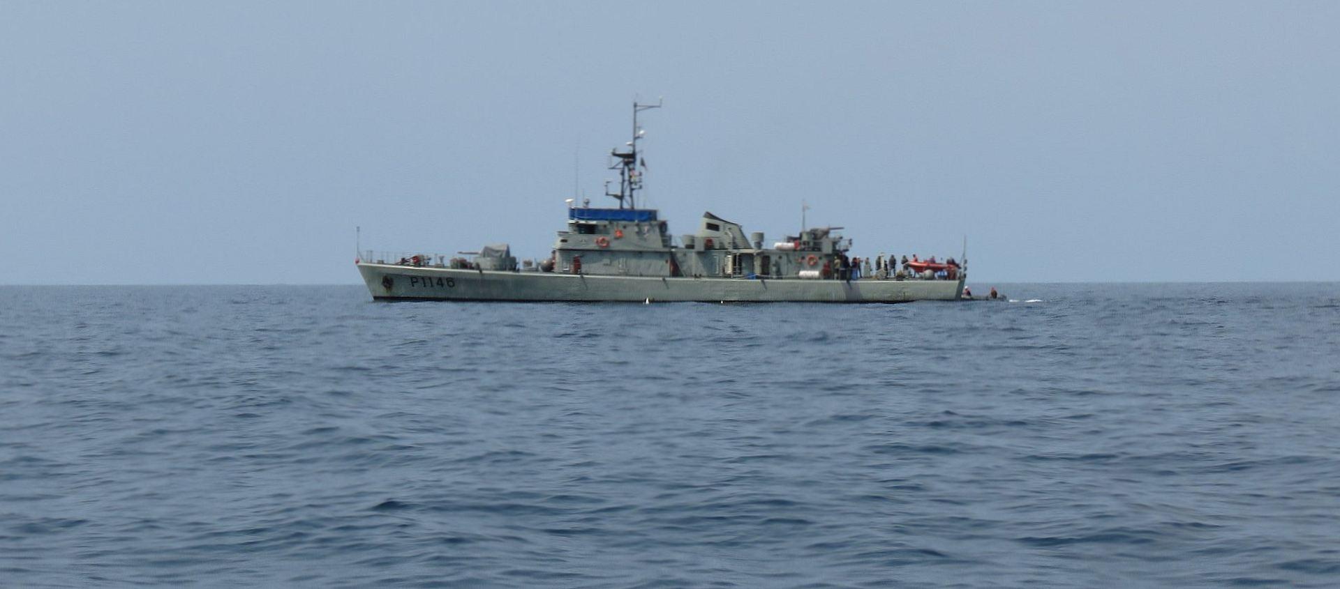 O NRP ZAIRE em missão na República Democrática de São Tomé e Príncipe