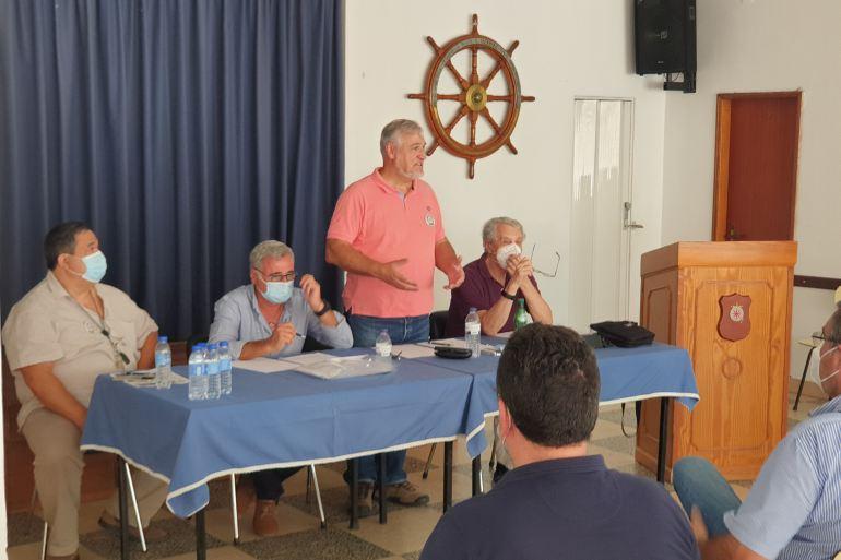A mesa foi presidida pelo Contra-almirante José da Silva Campos (imagem João Gonçalves)