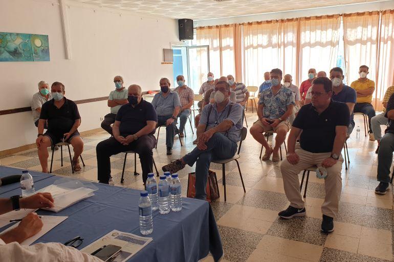Pormenor da audiência durante a assembleia geral dos submarinistas (imagem de João Gonçalves)