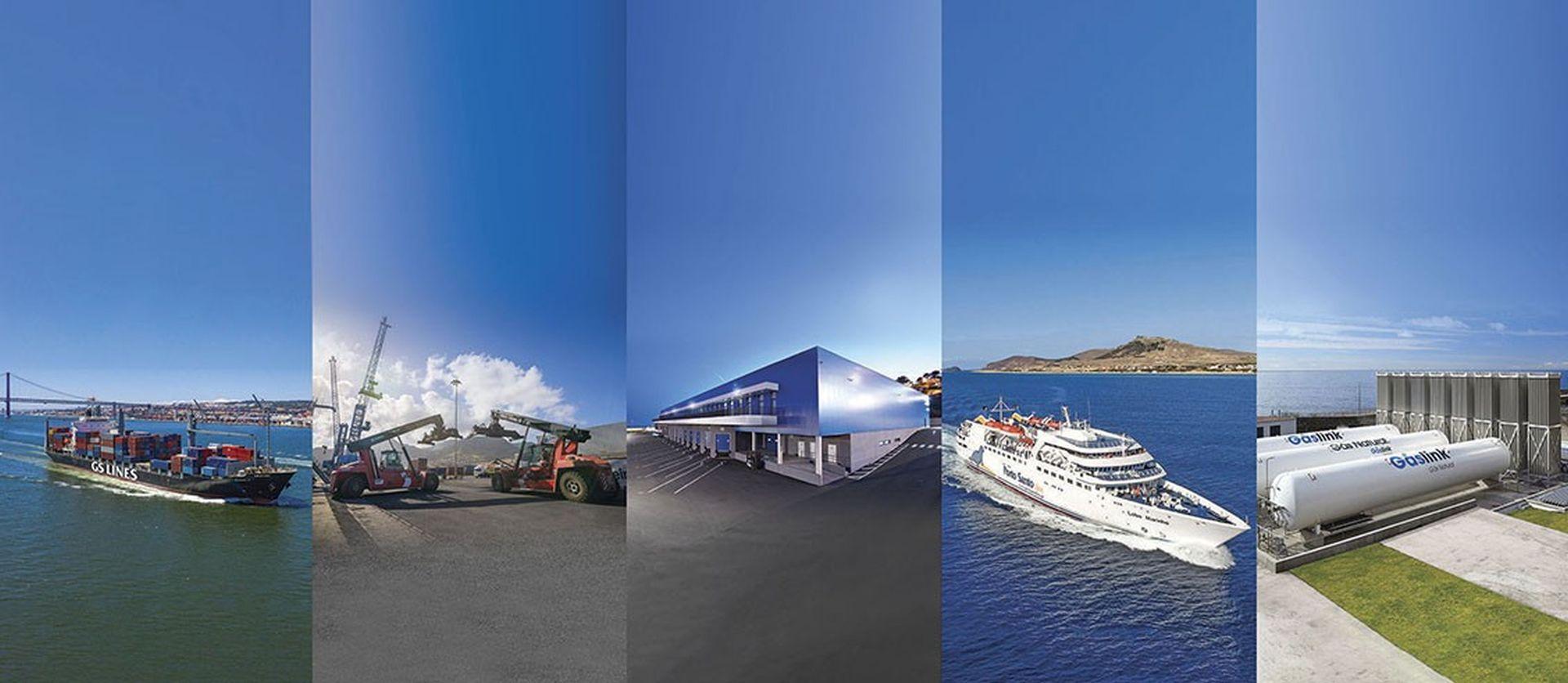 Operação pioneira para fornecer gás natural a uma ilha