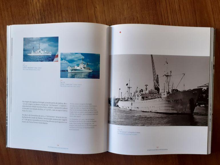 Os navios de assistência à Frota Bacalhoeira 16