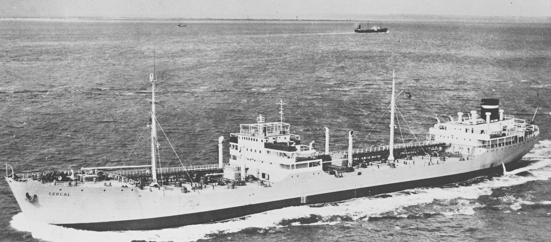 Navios Extra-Despacho 100: Navio-Tanque CERCAL (1952)